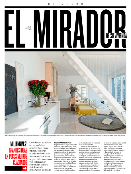 Su Vivienda – El Mundo | The Room Studio