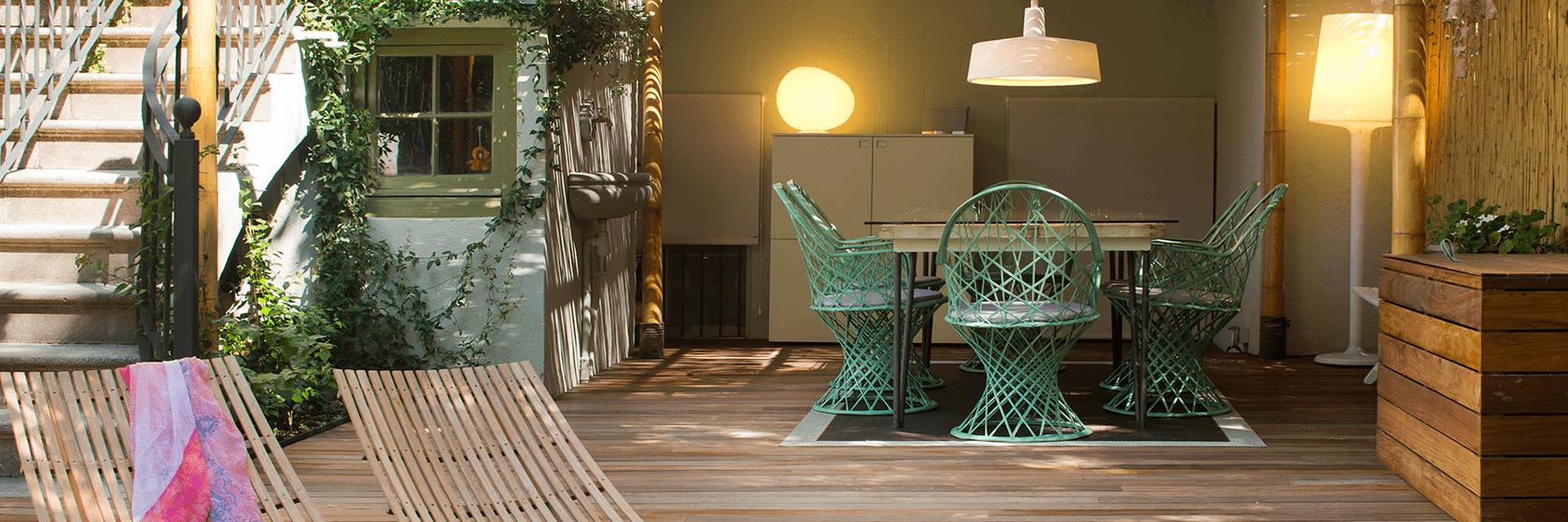 Idees per dissenyar menjadors exteriors? | The Room Studio