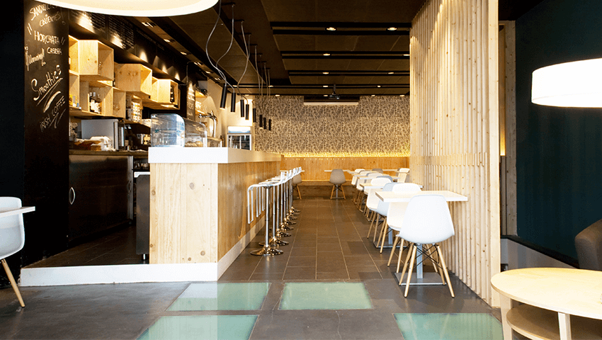 RESTAURANT COFFEE PARK | The Room Studio