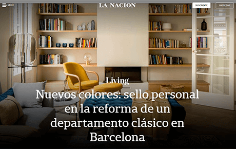 Living – La Nación | The Room Studio
