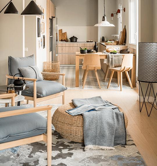 Antes y después: Vivienda Vía Augusta | The Room Studio