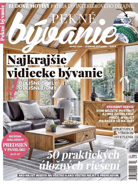 Magazine Pekné bývanie | The Room Studio