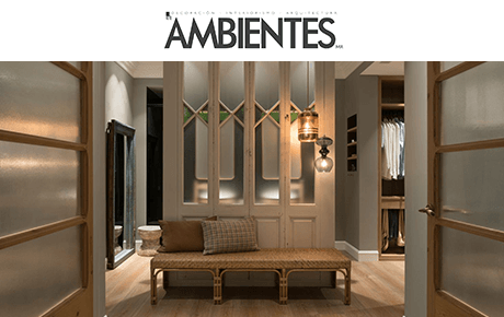 Revista Ambientes | The Room Studio
